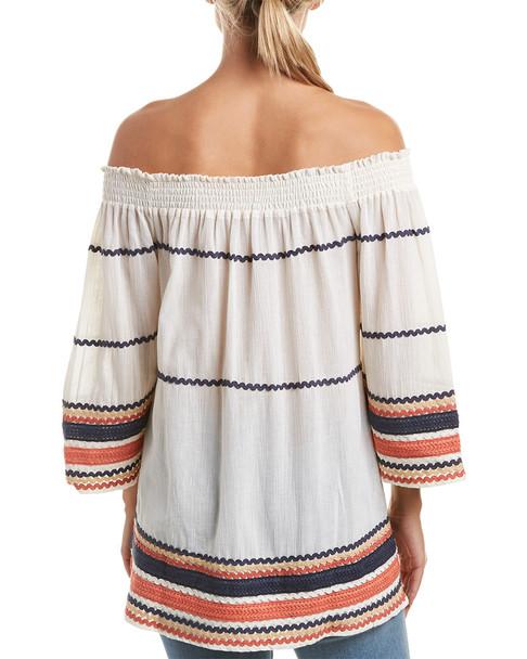 Rinku Dalamal Off-The-Shoulder Mini Dress~1411664872