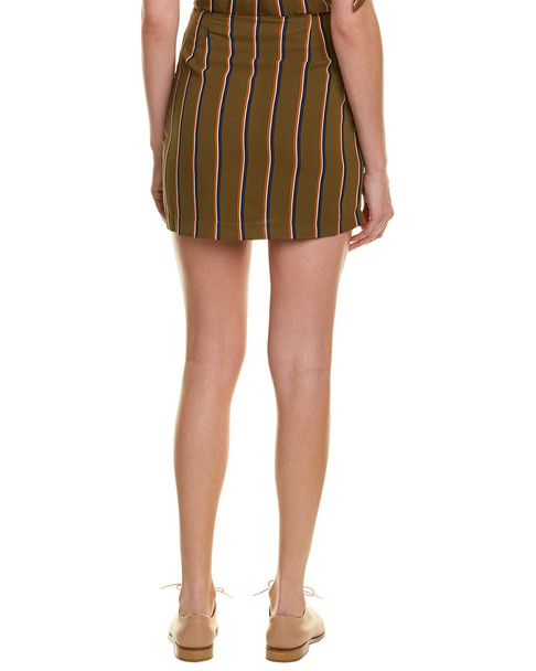 J.O.A. Tie-Front Skirt~1411681879