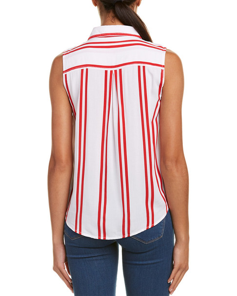 beachlunchlounge Janera Tie Front Top~1411682727