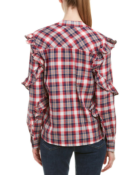 Blank NYC Frill Blouse~1411693645