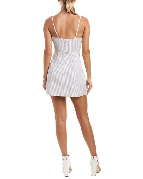 Haute Rogue Lace-Up Mini Dress~1411725627