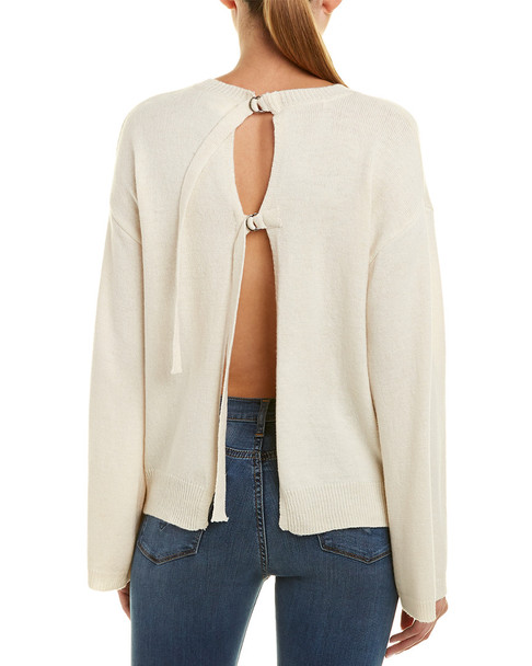 EVIDNT Backless Wool-Blend Sweater~1411751856