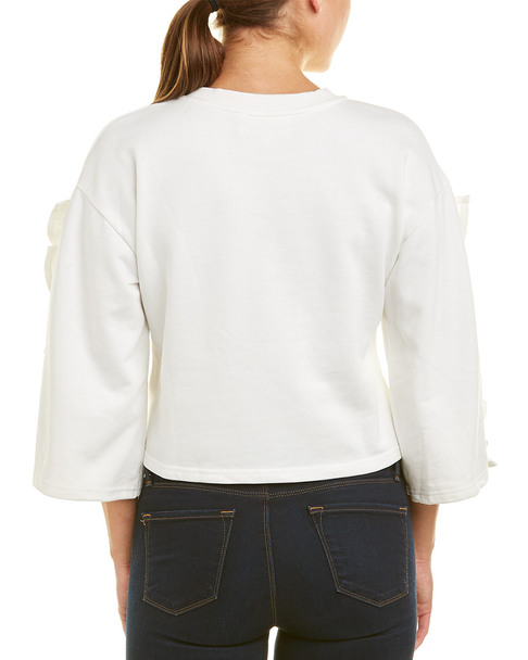 J.O.A. Ruffle Sleeve Top~1411757575