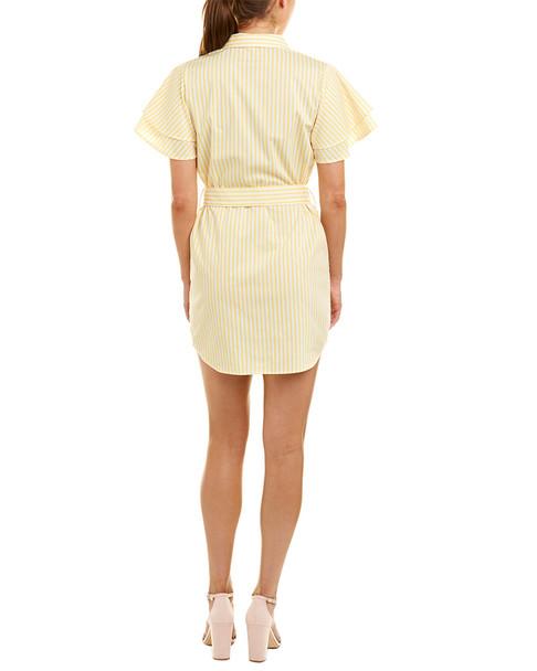 Jealous Tomato Tie-Waist Shirtdress~1411761655