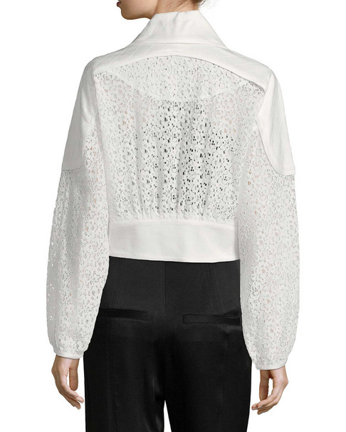MARISSA WEBB Phoenix Crepe & Lace Jacket~1411769187
