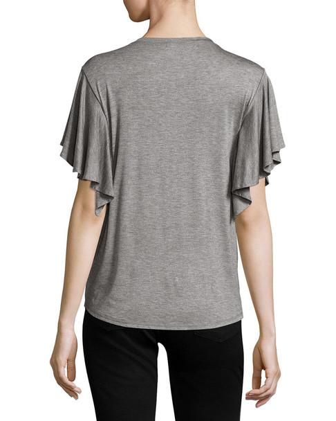 Project Social T Flutter-Sleeve T-Shirt~1411770173