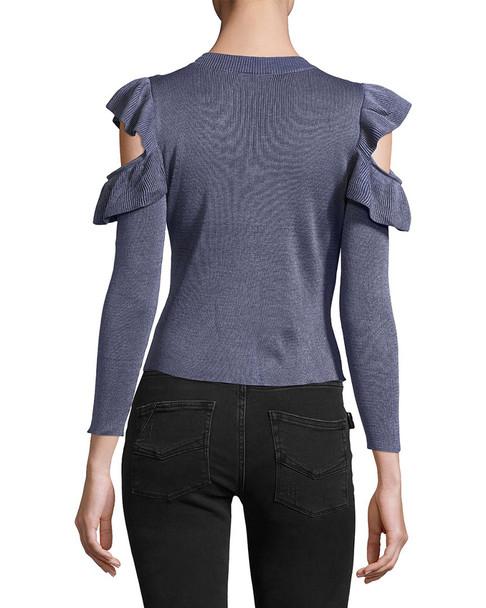 RENVY Frill Crewneck Sweater~1411771923