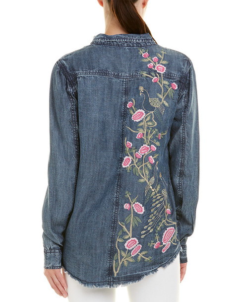 Tolani Embroidered Harlow Top~1411775088