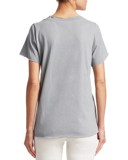 RENVY Smocked-Waist T-Shirt~1411776284