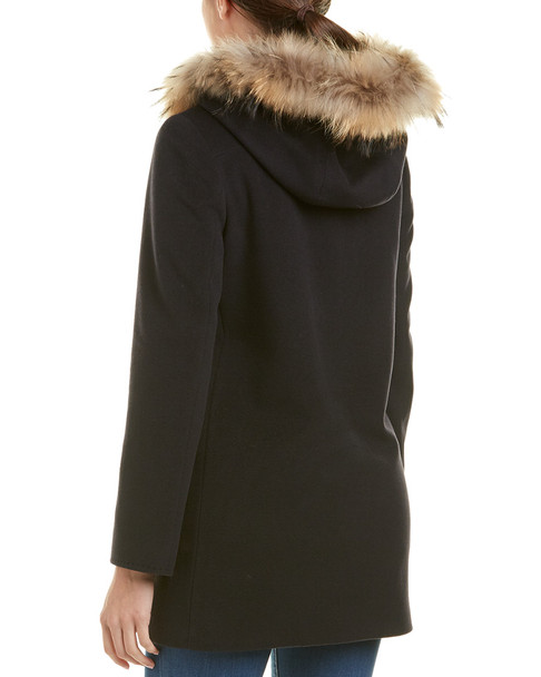 Cinzia Rocca Icons Wool & Cashmere-Blend Coat~1411785536