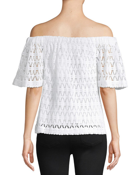A.L.C. Cheyenne Off-the-Shoulder Lace Top~1411788087