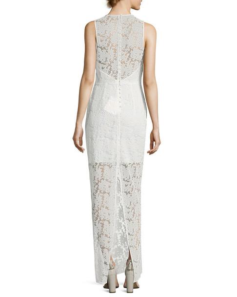 Diane von Furstenberg Textured Overlay Gown~1411803227