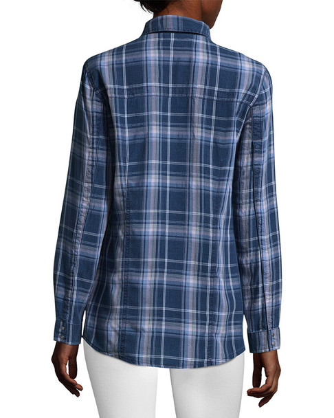 Hudson Pant Britt Plaid Button-Front Shirt~1411804973