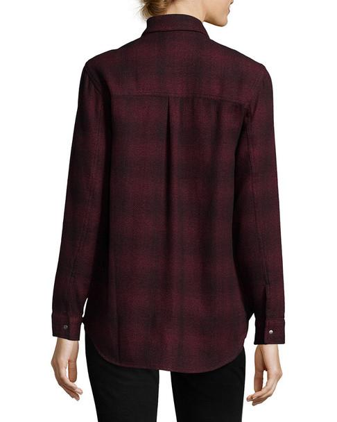 Hudson Pant Kari Plaid Button-Front Shirt~1411804974