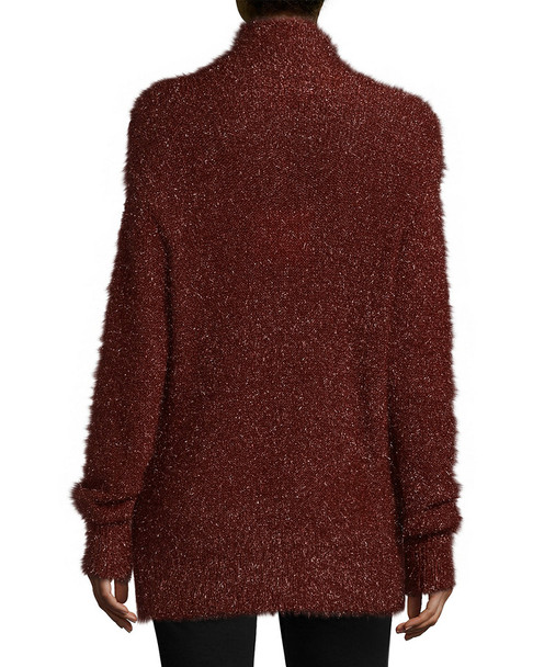 Tibi Gleam Mockneck Sweater~1411805329