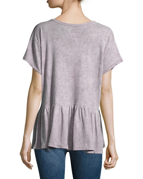 Current Elliott The Girlie High-Low T-Shirt~1411812894