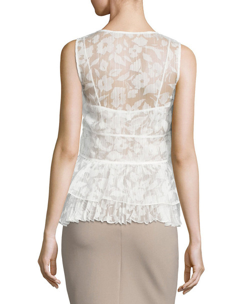 Tracy Reese Overlay Shell Top~1411815123