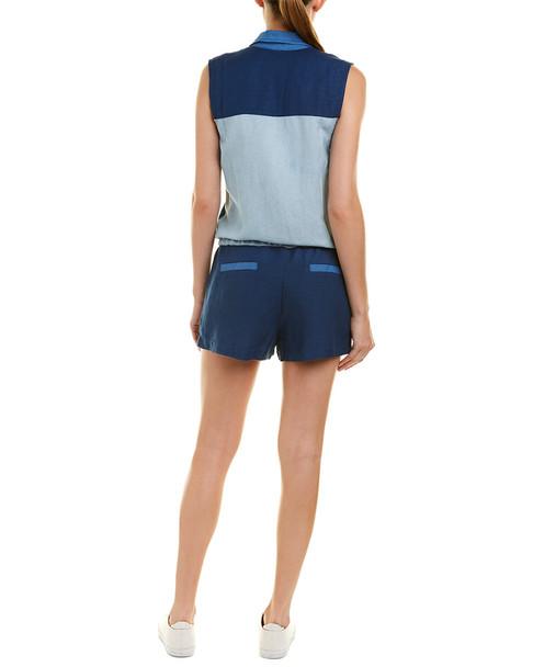 YFB CLOTHING Erwin Linen-Blend Romper~1411817740