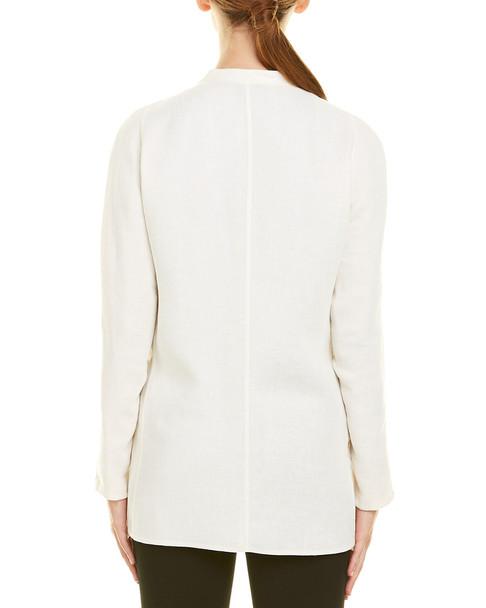 Akris Linen-Blend Silk-Lined Jacket~1411835661