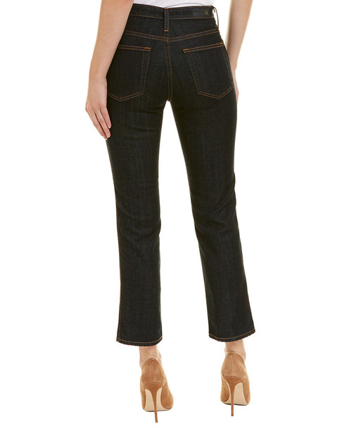 AG Jeans The Isabelle Indigo Autumn High-Rise Straight Crop~1411836601