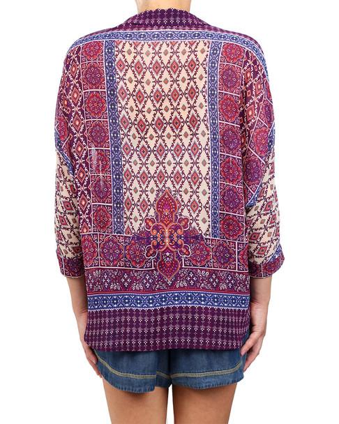 Glam Mosaic Button Down Shirt~1411866651