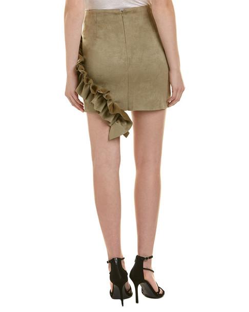 Aiden Ruffle Mini Skirt~1411870080