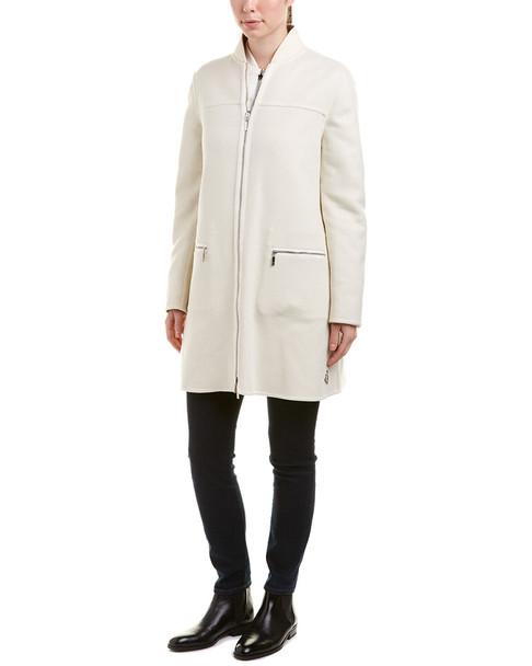 Moncler Wool-Blend Down Coat~1411883656