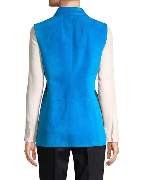Akris Cocoon Suede Vest~1411886647