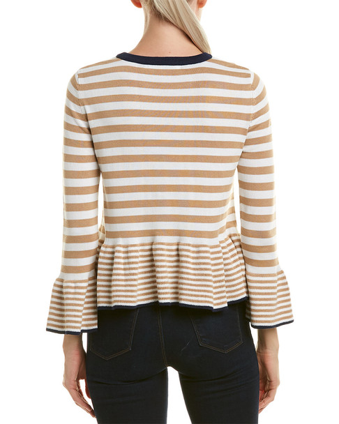 English Factory Bell-Sleeve Sweater~1411892490