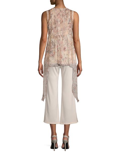 Haute Hippie Silk Drape Top~1411902899