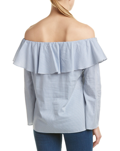 DREW Erin Off-The-Shoulder Blouse~1411909069