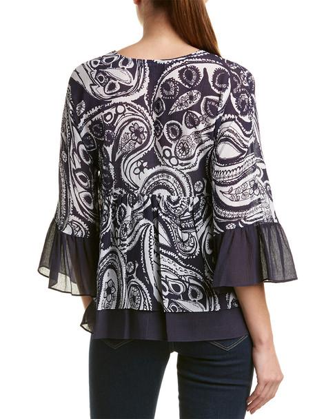 Trina Turk Ayden Silk-Blend Top~1411945284