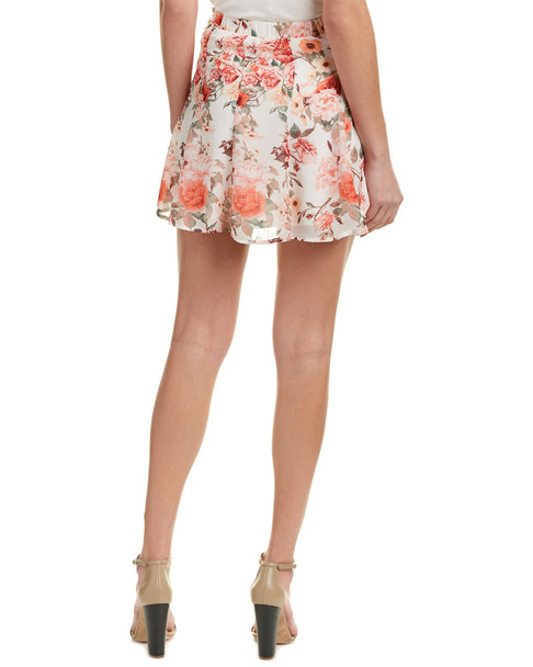 Show Me Your Mumu Skater Stretch Skirt~1411952223