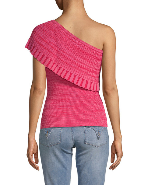 Manoush One-Shoulder Drape Top~1411975773