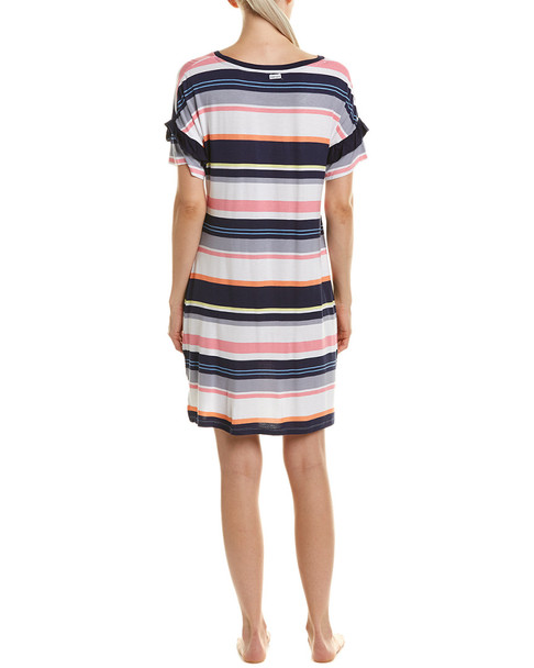 Kensie Striped Sleepshirt~1412820443