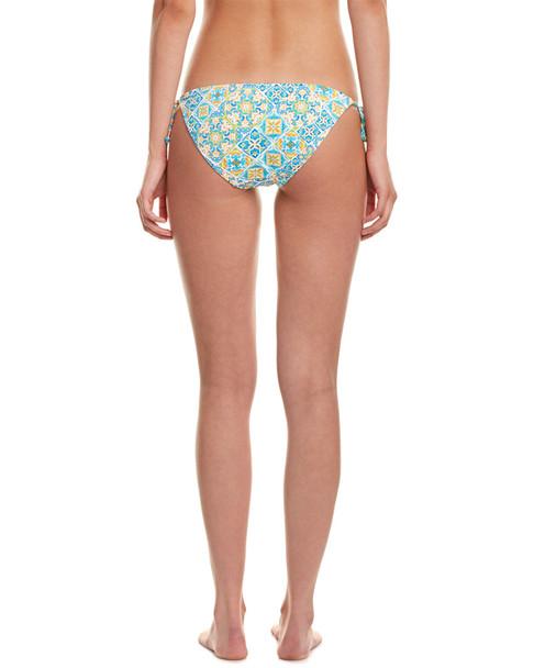 Kensie Mosaic Side Tie Bottom~1414061240