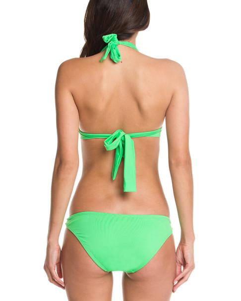 Shoshanna Solid Neon Green Brief Bottom~1414248261