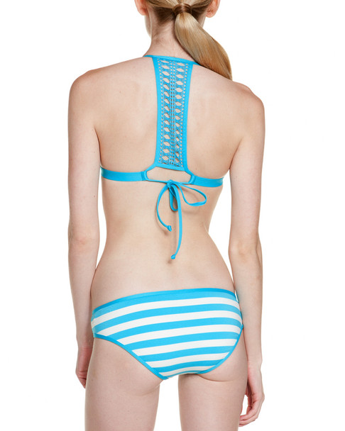 Ella Moss Blue Cabana Stripe Retro Bottom~1414379141