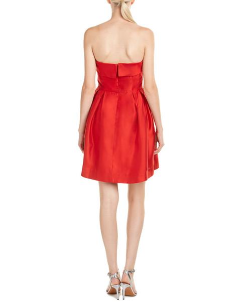 Shoshanna Silk A-Line Dress~1452045724