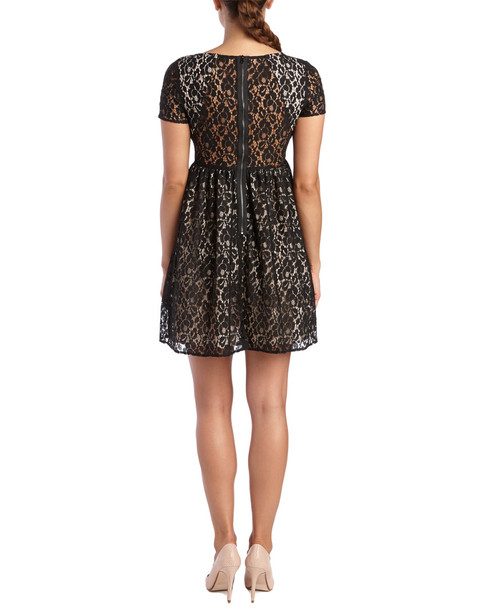 ABS by Allen Schwartz Babydoll Dress~1452717101