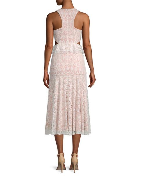 Alexis Lace Midi Dress~1452774783