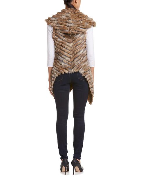 Jocelyn Draped Front Wool-Blend Vest~1453193181