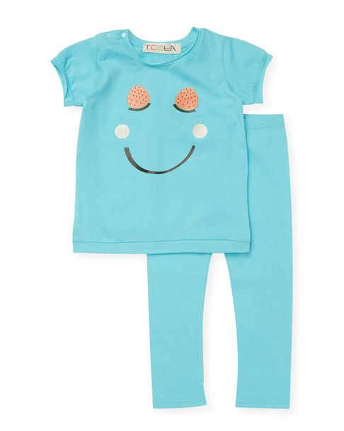 Teela NYC Smiley Top, Tunic & Legging~1511305899