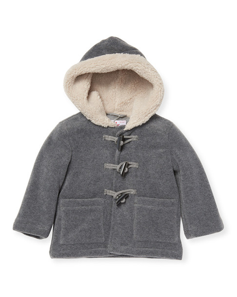Il Gufo Lined Hooded Jacket~1511484435
