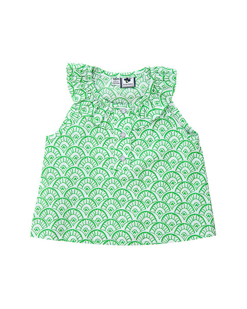 Busy Bees Eileen Ruffle Top~1511608434