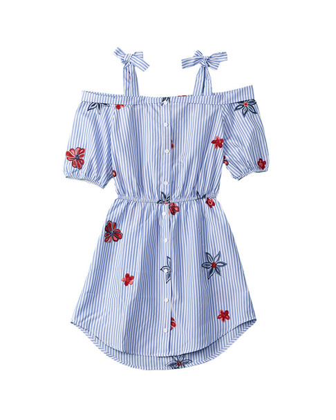 People's Project LA Girls' Rue Cler Dress~1511738649