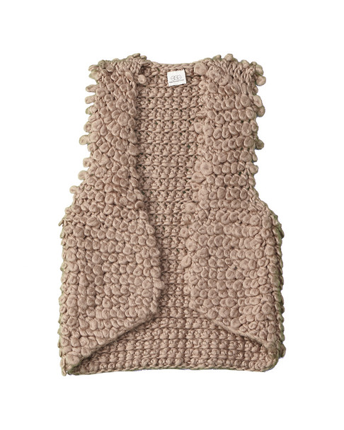 Egg Bonnie Wool-Blend Vest~1511743148