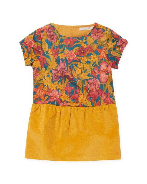 Je suis en CP! Floral Print Dress~1511766878