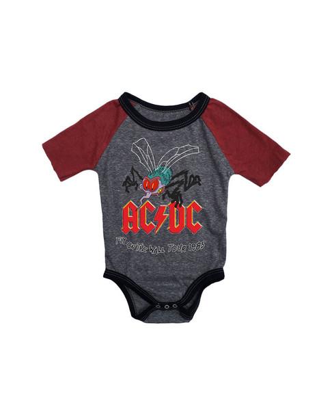 Rowdy Sprout AC/DC Raglan One-Piece~1511771330