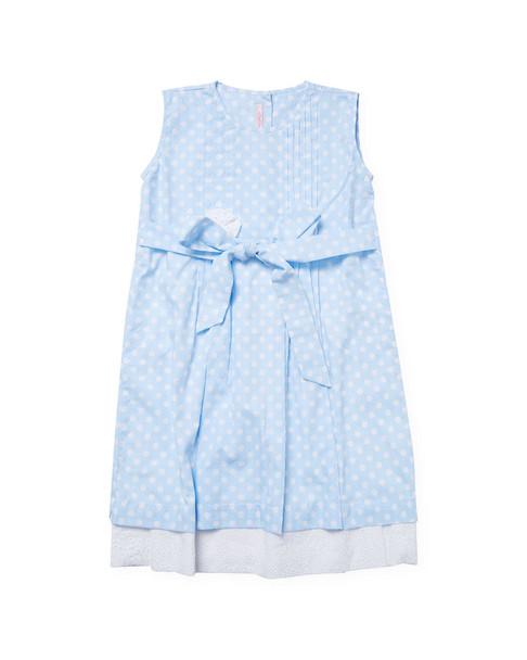L'Enfant Lune Printed Layered Hem Dress~1511771485
